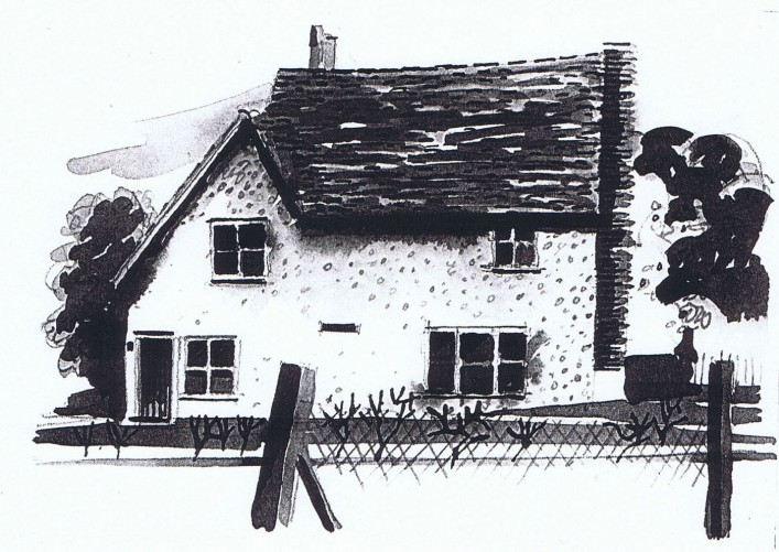 Mike James drew this sketch to help fundraising for Pirton Methodist Church.