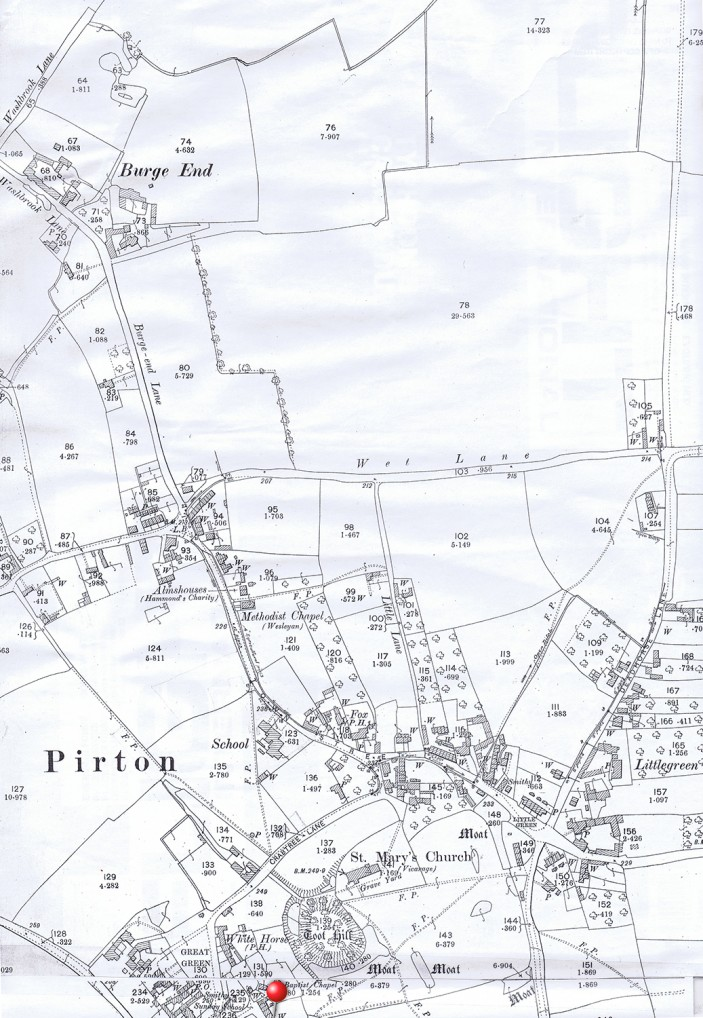 1895 Ordnance Survey map
