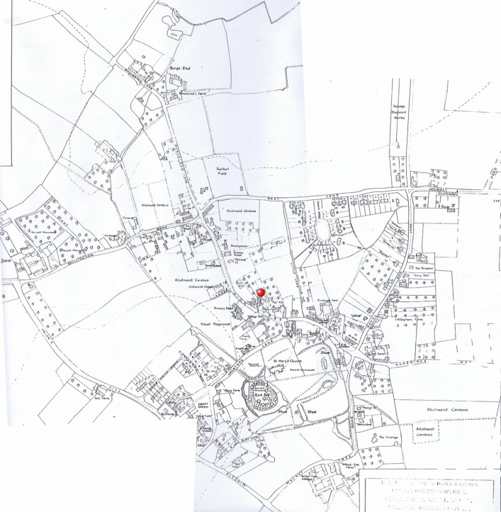 1950  Parish Council map