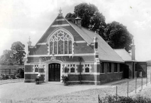 Pirton Wesleyan Methodist Church built in 1906.