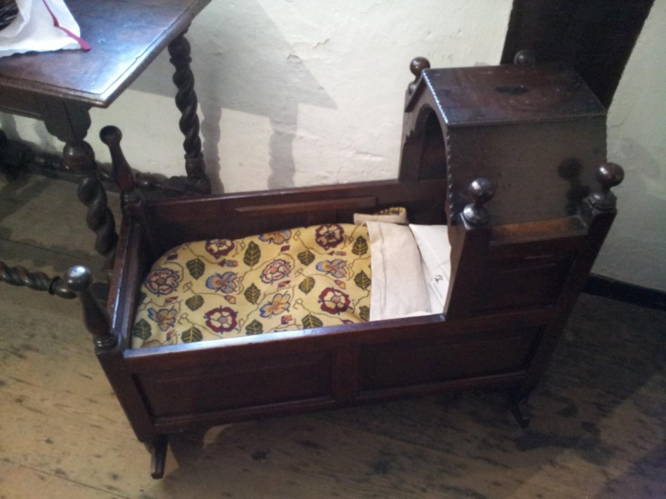 Rocking cradles were made until Queen Anne's time, when the older suspended cot was again reverted to.