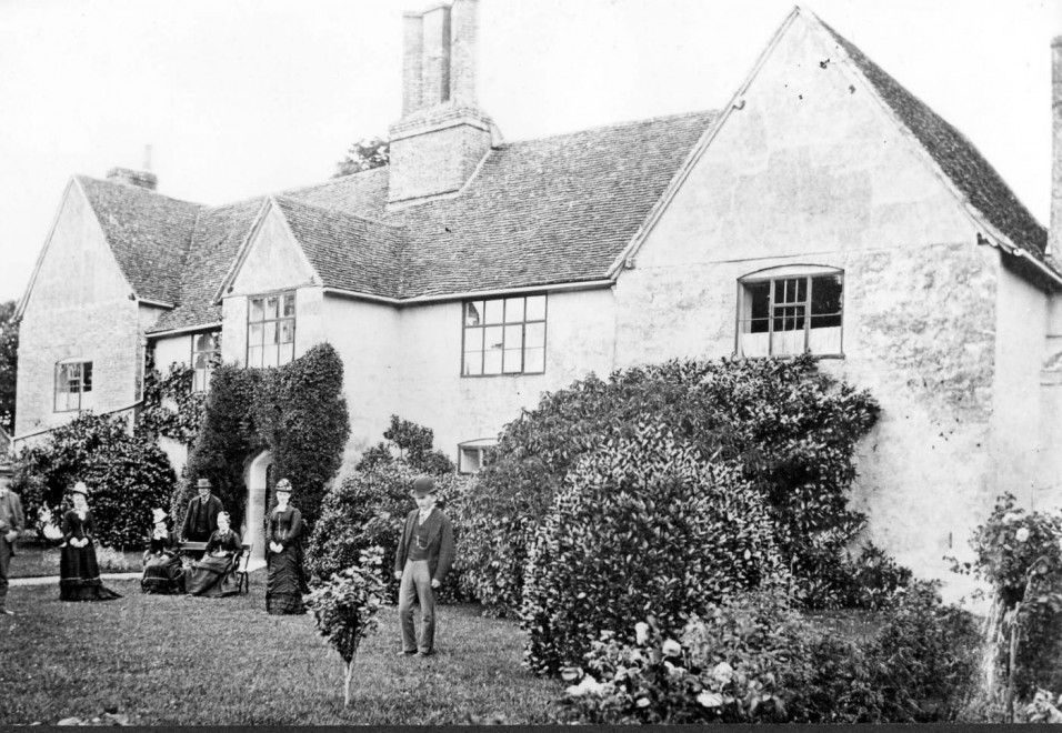 Rectory Farm in the nineteenth century.
