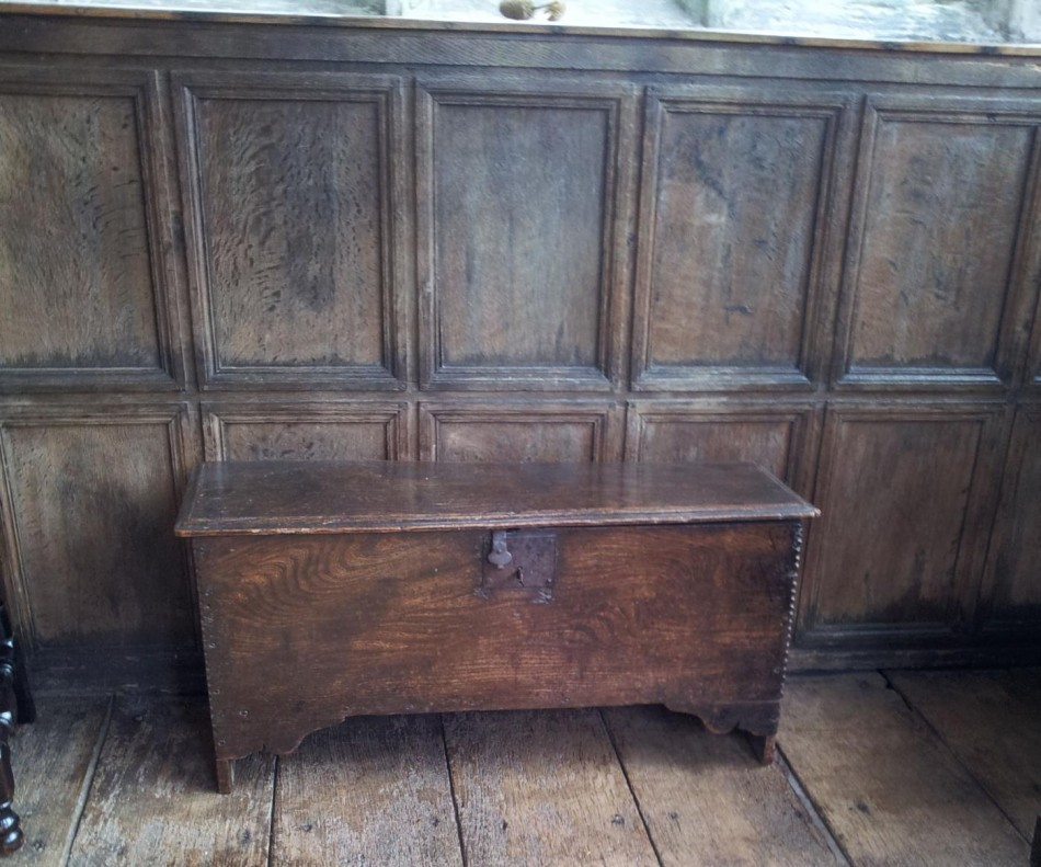 In the 17th century most houses had coffers and chests for storage